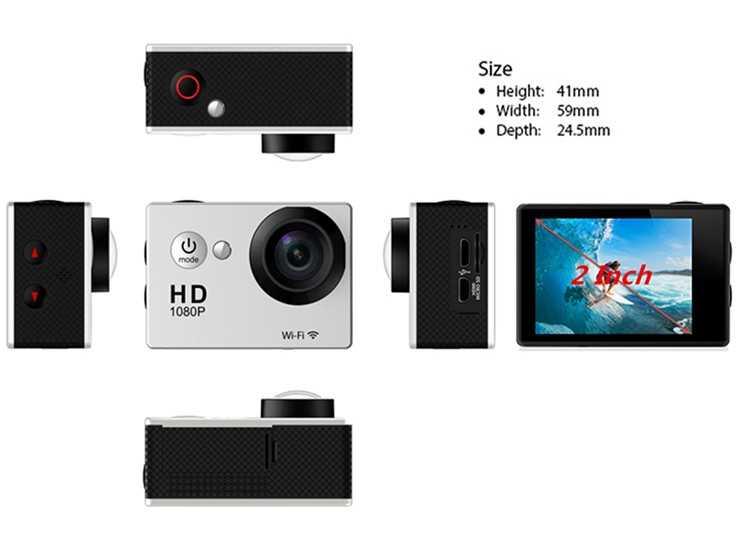 Экшн камера Ultra HD DV