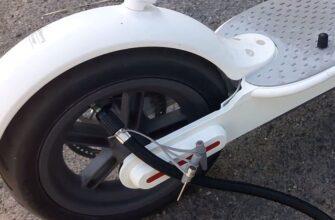 Давление в шинах электросамоката