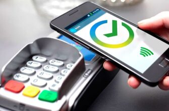 Оплата картой Сбербанка через NFC