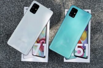 Galaxy A51 и A71 сравнение