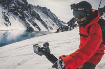 Съемка на экшен камеру в движении
