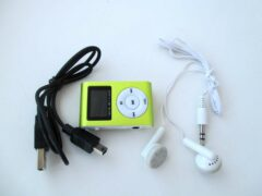 MP3 плеер — копия ipod shuffle с дисплеем
