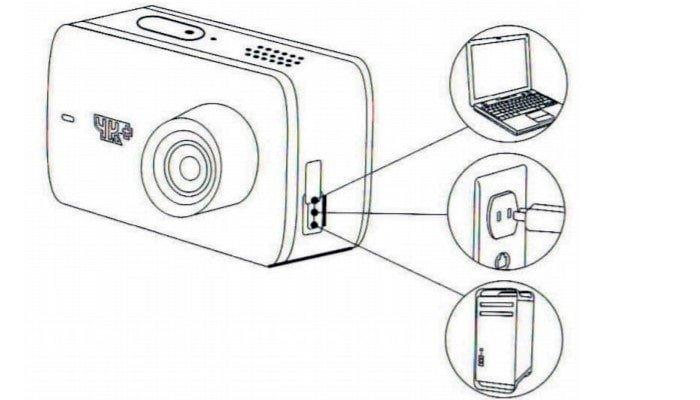 инструкция по зарядке Xiaomi Yi 4K Action