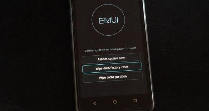 интерфейс EMUI
