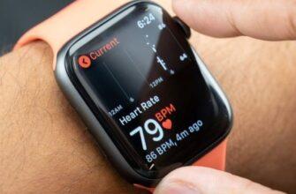 Измерение давления в Apple Watch
