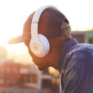 Беспроводные наушники Beats Studio 3 Wireless White