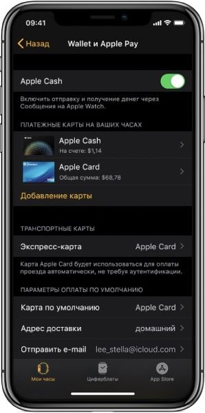 Настройка Apple Pay