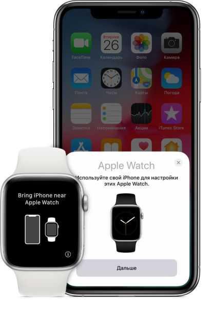 Сопряжение Iphone и Apple Watch
