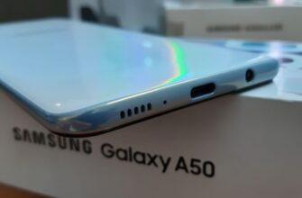 Динамики Samsung A50