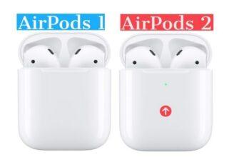разница airpods 1 и 2
