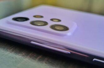 Обзор смартфона Samsung A72