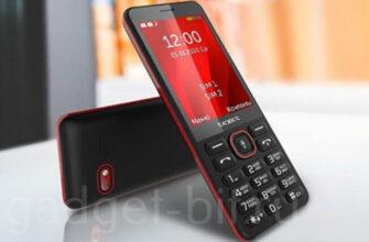 кнопочный телефон с большим экраном teXet ТМ-309