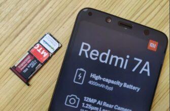 Вставить сим карту Xiaomi Redmi 7